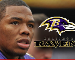 Ray Rice Cut by the Ravens Suspended by NFL