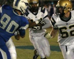 Dobson Vs. Desert Vista Freshman Football Game Highlights 10/15
