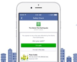 Facebook Announces 'Safety Check' tool for disasters