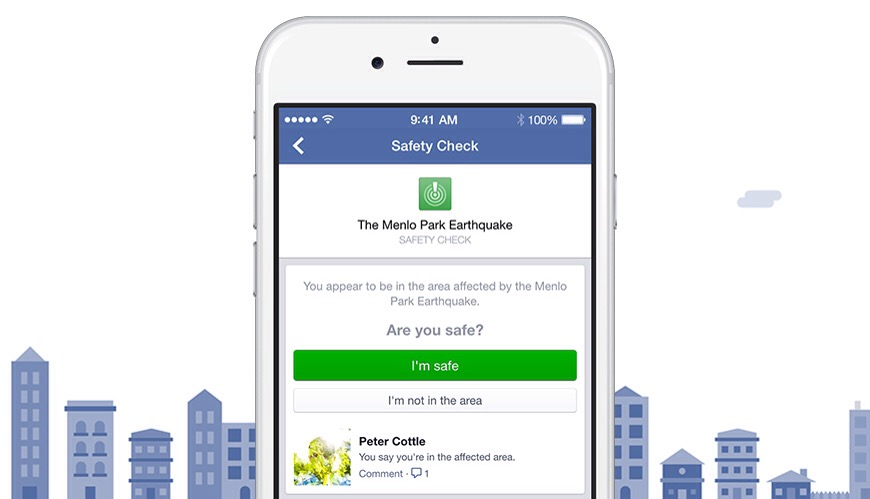 Photo of Facebook Announces 'Safety Check' tool for disasters