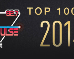 Here are the top 100 songs played on The Pulse in 2014!