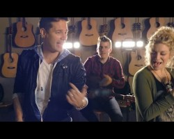 David Osmond and 3 others Cover The Top 33 Songs Of 2014 In 3 Minutes