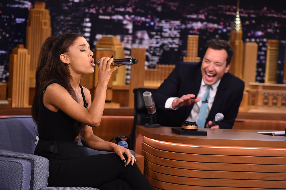 Photo of Ariana Grande's best impressions of Britney Spears, Christina Aguilera and Celine Dion