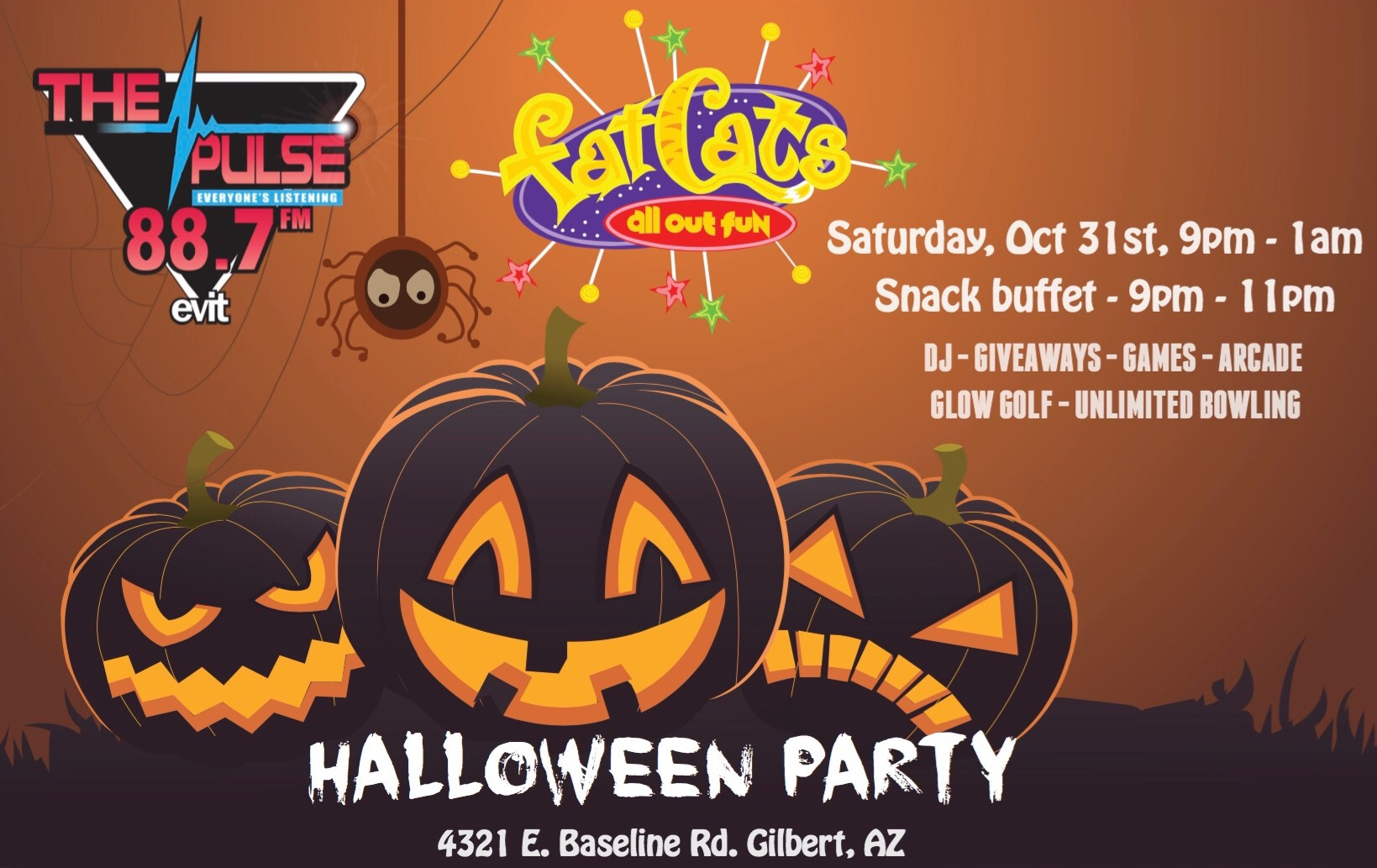 Photo of The Pulse + FatCats Present the Biggest Halloween Party in Town