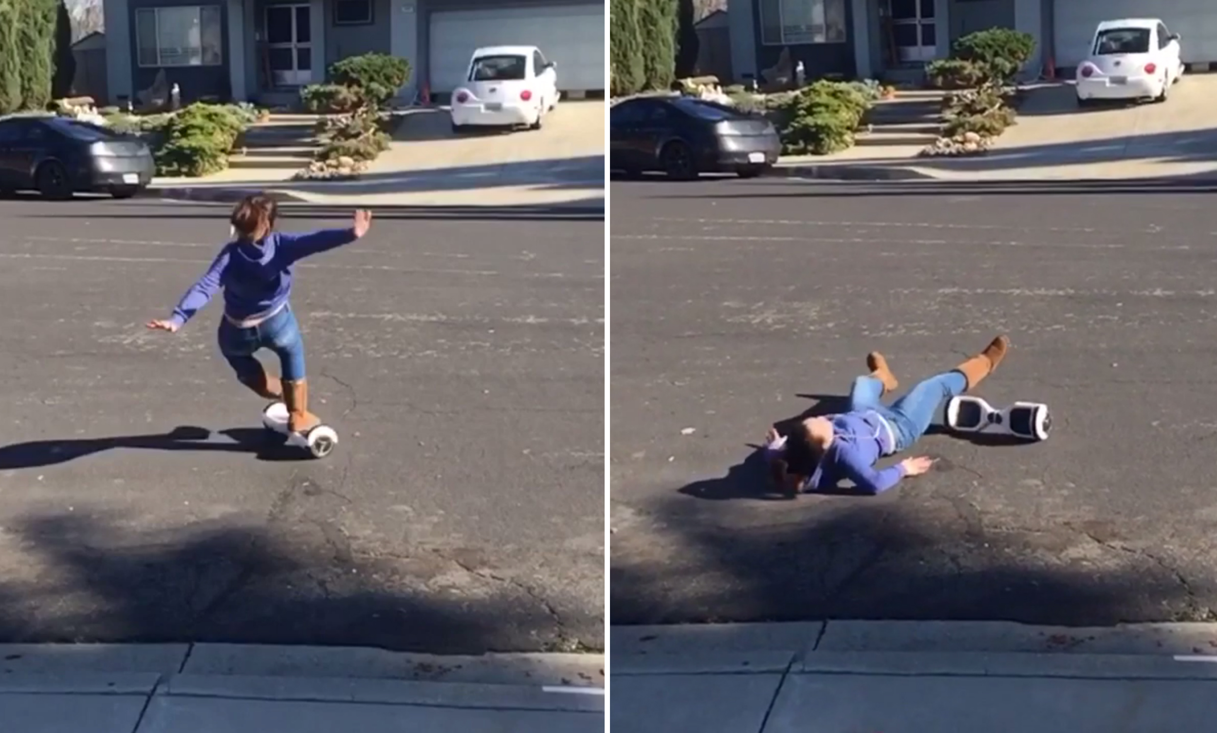 Photo of #WATCH: People are falling off hoverboards that they got for Christmas