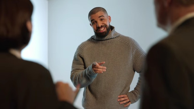Photo of Drake does 'Hotline Bling' in new T-Mobile Super Bowl commercial