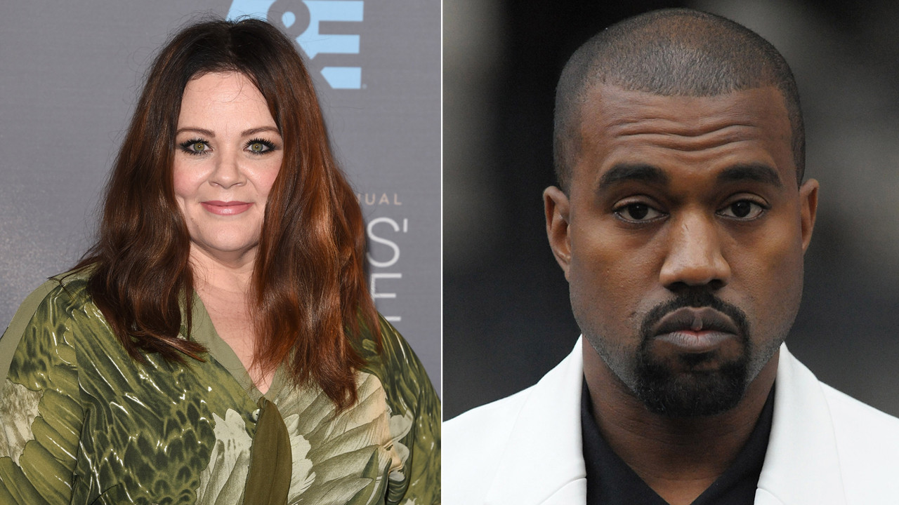 Photo of Melissa McCarthy and Kanye West appear in 'SNL' promo