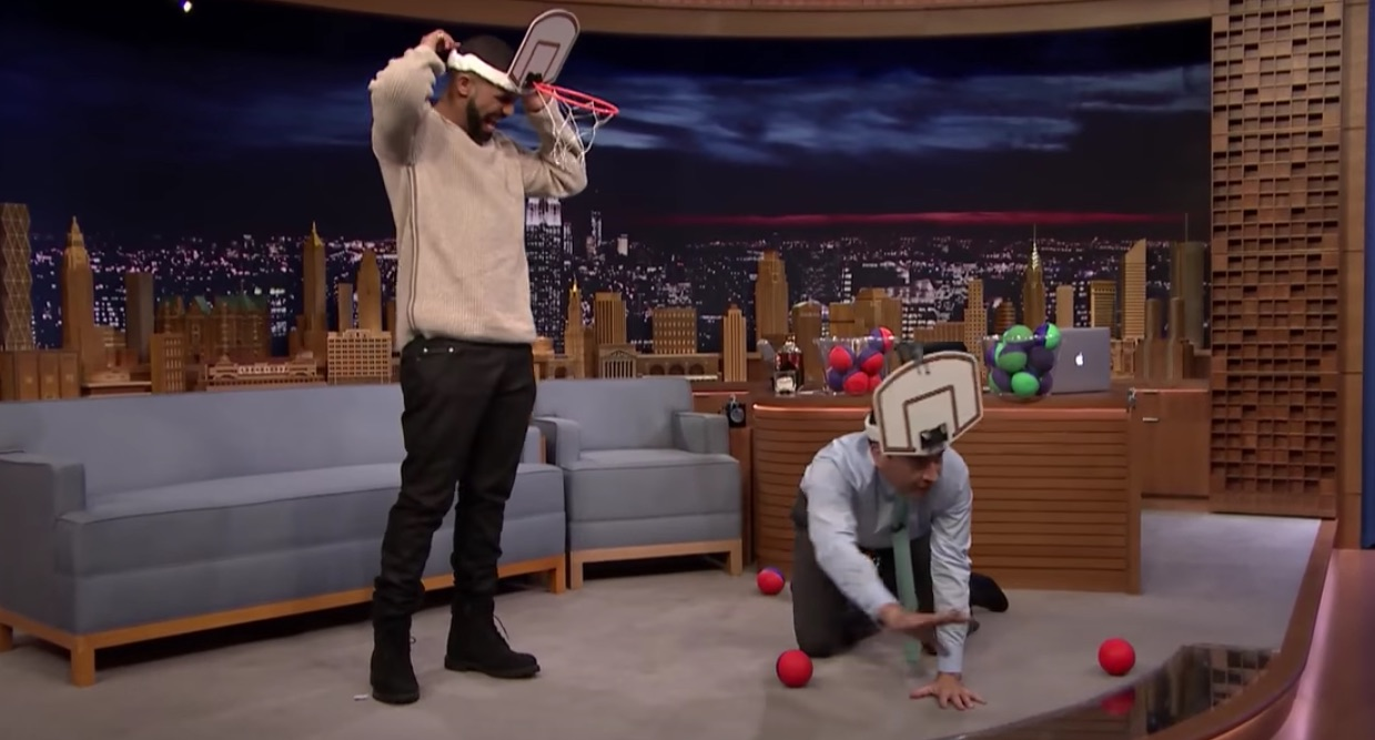 Photo of Drake plays 'Faceketball' on 'The Tonight Show Starring Jimmy Fallon'