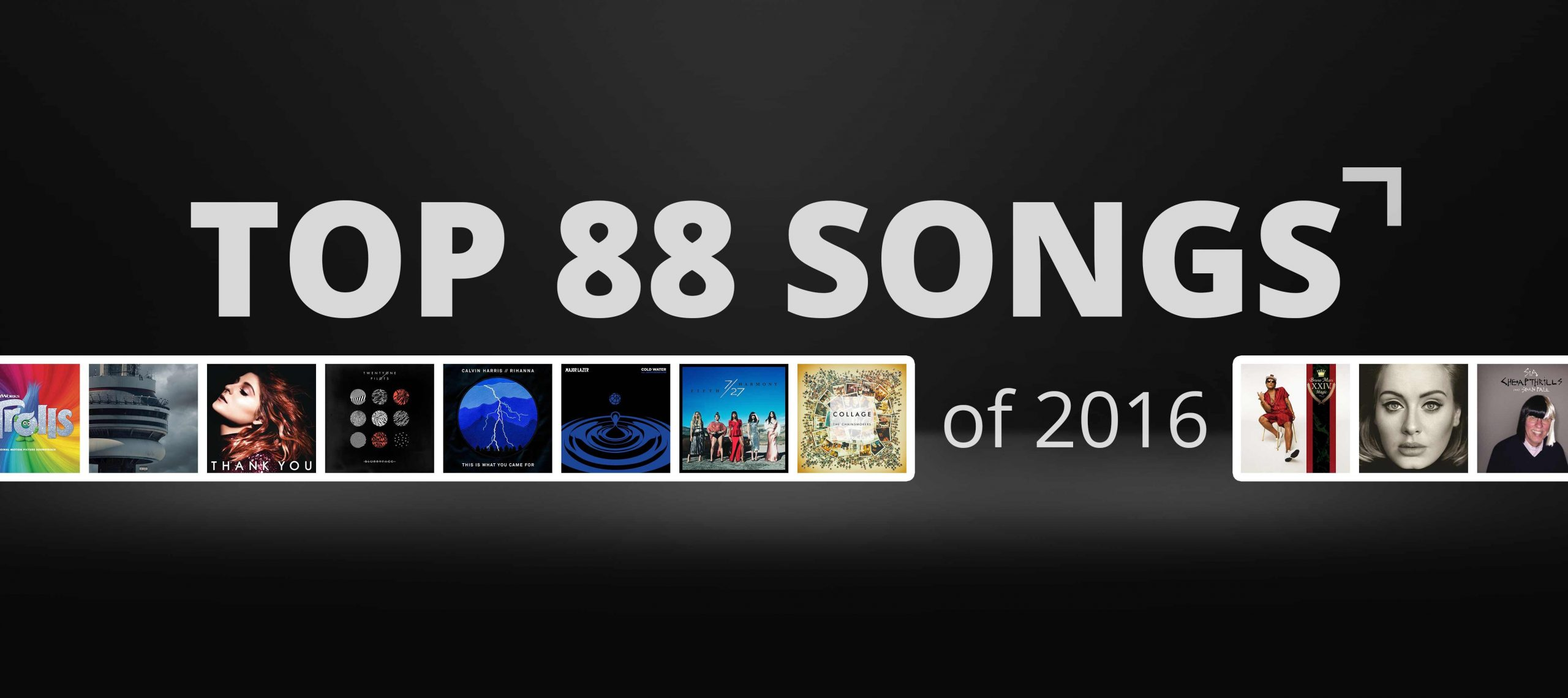 Photo of We're counting down the top 88 songs played on The Pulse in 2016