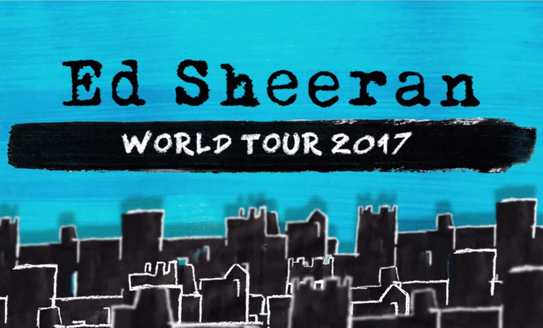 Photo of Ed Sheeran announces world tour, coming to the valley this summer