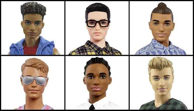Photo of Mattel releases versatile Ken dolls including man bun and Dad bod