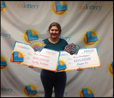 Photo of California teen wins big Lottery prize … twice … in one week