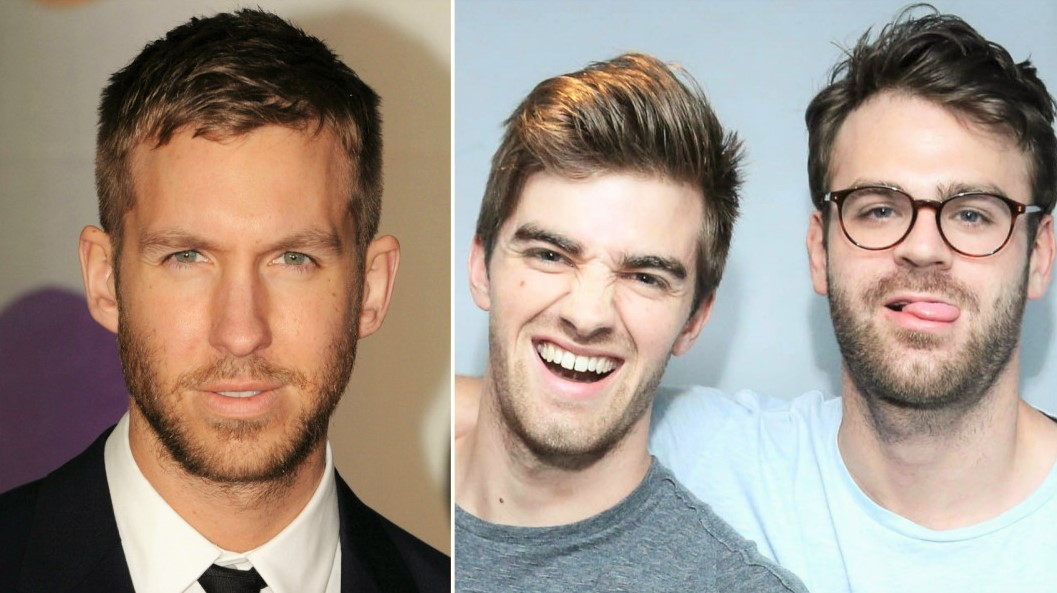 Photo of Pulse artists Calvin Harris and The Chainsmokers place in the highest paid deejays list