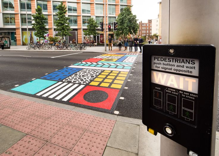 Photo of Cool interactive LED crosswalk keeps pedestrians and bicyclists safer