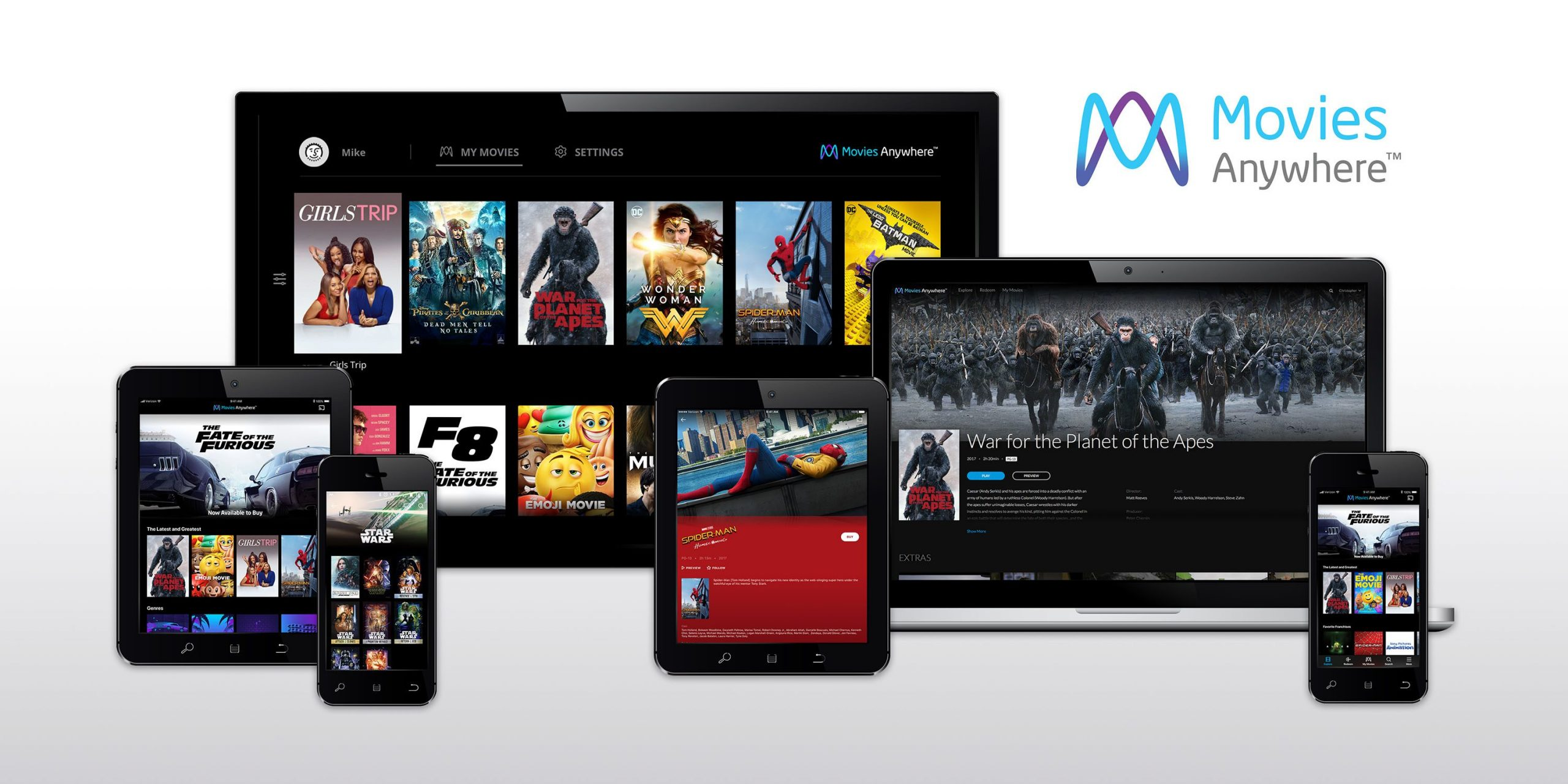 Photo of Hollywood studios join forces to launch Movies Anywhere digital locker service