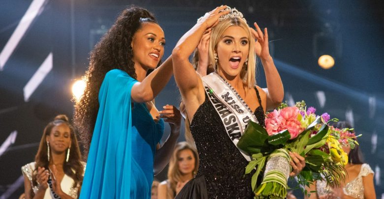 Photo of Miss USA 2018 winner from Nebraska Sarah Summers talks to The Morning Beat