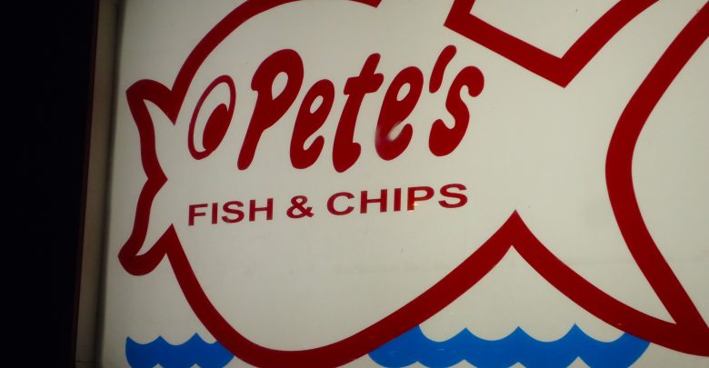 Photo of 88.7 The Pulse broadcasting live from Pete's Fish and Chips