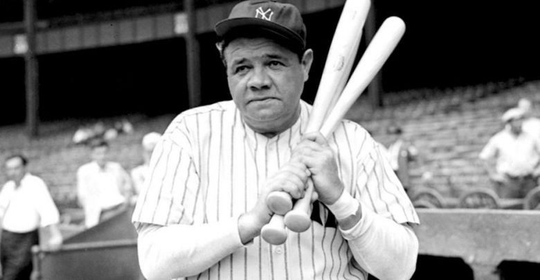 Photo of Game-Worn Babe Ruth Yankee Jersey Sold For Record High