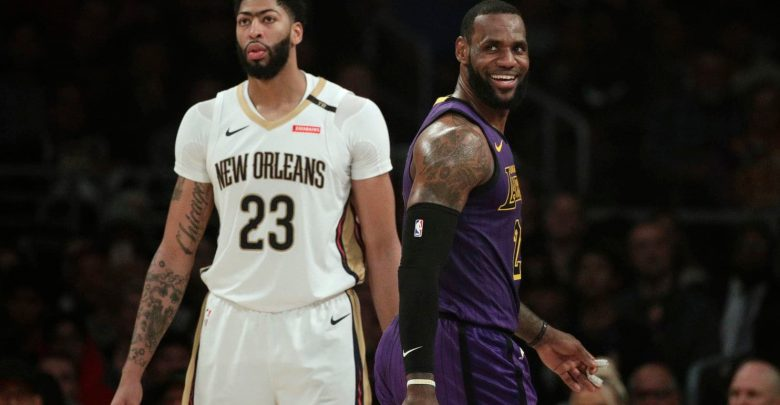 Photo of Anthony Davis Joins LeBron James And The LA Lakers