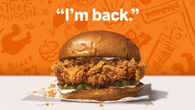 Photo of Popeyes announces return date of its chicken sandwich