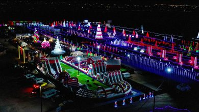 Photo of Where to go for the best holiday light displays in the Valley