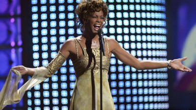 Photo of Whitney Houston goes on tour in Europe… well…sorta!