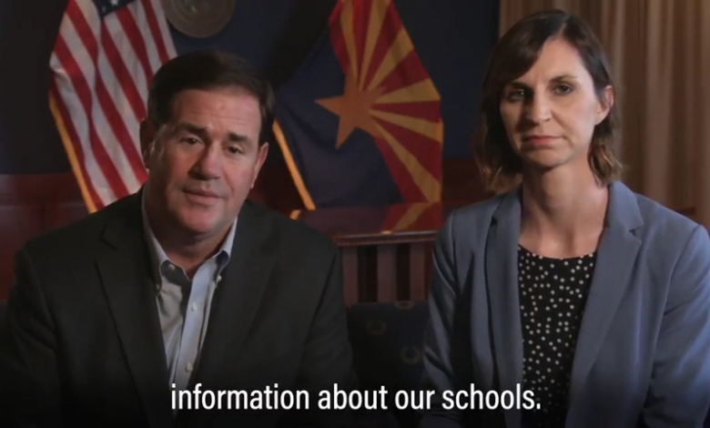 Photo of Governor Ducey, Superintendent Hoffman Announce Extension Of School Closures Through End Of School Year