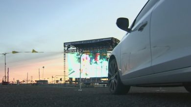 Photo of Mesa pop-up drive-in offers movies for those wanting to get out of house