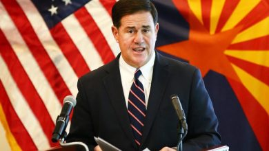 Photo of Gov. Doug Ducey announces week-long state of emergency, curfew order