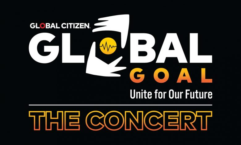 "Photo of Livestream concert ""Global Goal: Unite for Our Future,"" Saturday June 27 will feature numerous pop culture personalities"