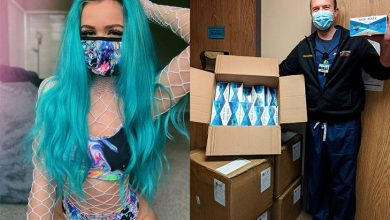 Photo of Relentless Beats Partners with iHeartRaves to Donate 10,000 Surgical Masks to Gila River Health Care